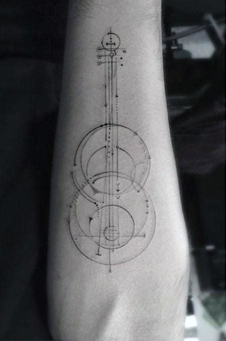 simple tattoo music 40 simple music tattoos for men musical ink design ideas