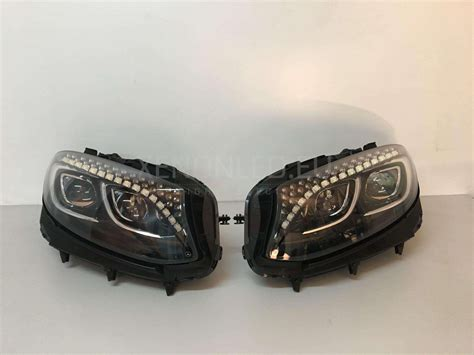 mercedes s class headlights mercedes benz s coupe s217 full led headlights 2014