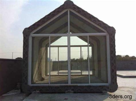 3d printing house chinese company assembles 10 3d printed concrete houses in
