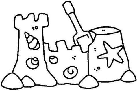 sand castle coloring download sand castle coloring