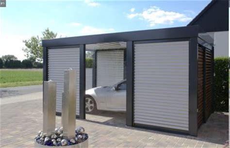 geschlossene carports carport bauen bautime
