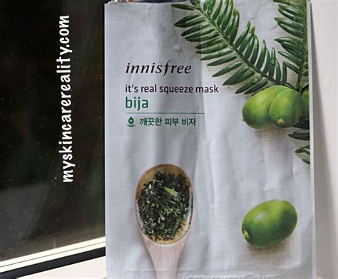Innisfree My Real Squeeze Mask 100 Original 1 innisfree its real squeeze sheet mask bija 1