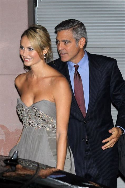 stacy keibler engagement ring george clooney dumps wwf girlfriend stacy keibler