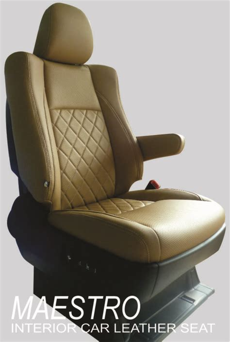Sarung Jok Mobil Alphard modifikasi interior toyota alphard jok mobil dengan bahan mbtech camaro maestro