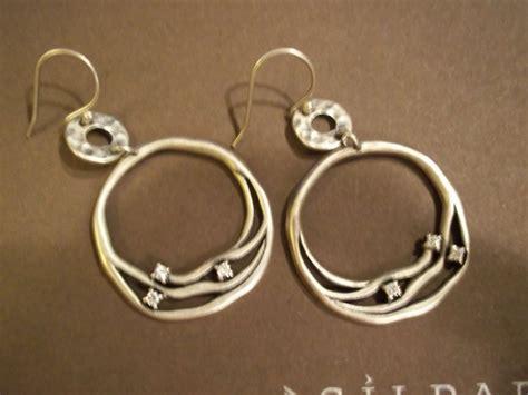 w2038 retired silpada cubic zirconia earrings
