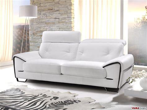 divani in pelle divano moderno di design zoom vama divani