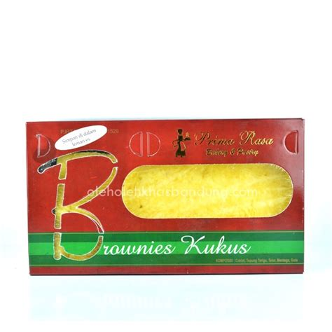 Brownies Prima Rasa Bakar Coklat Keju brownies kukus keju cokelat primarasa bandung oleh oleh khas bandung 081320482001