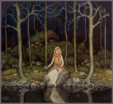 libro the faery forest an scandinavian folklore dalenorge