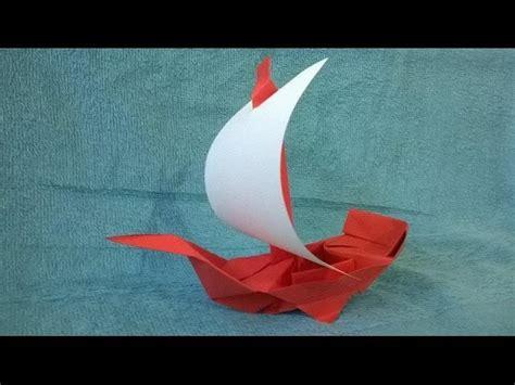 como hacer un espectacular barco pirata de papel origami - Barco Pirata Origami