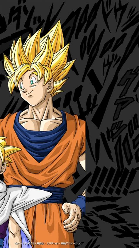 dragon ball z wallpaper for your phone dbz phone wallpapers group 58