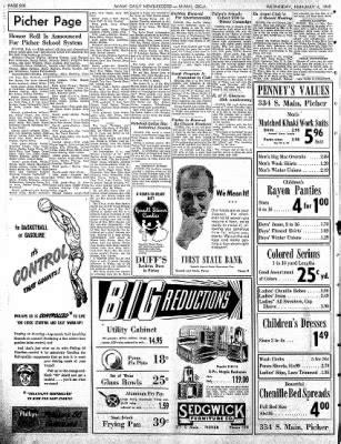 Daily Oklahoman Records Miami Daily News Record From Miami Oklahoma On February 4 1948 183 Page 6