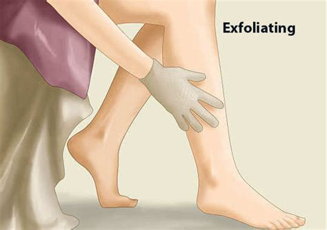How To Exfoliate Legs With Ingrown Hairs | how to get rid of ingrown hair on your legs feminiyafeminiya