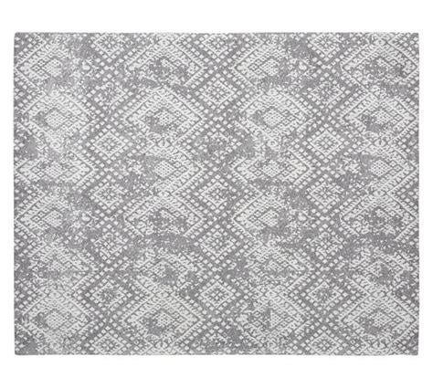 synthetic rugs zahara synthetic rug gray pottery barn