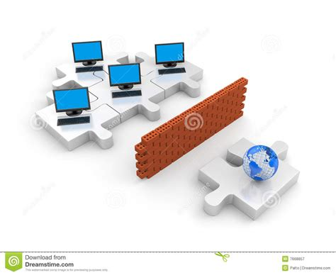 Home Design 3d For Pc Download firewall information security concept royalty free stock