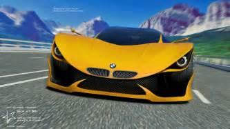 new car 3d bmw mt58 concept car