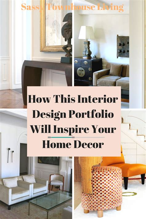 Your Home Decor How This Interior Design Portfolio Will Inspire Your Home Decor