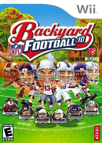 backyard football 2010 nintendo wii 171 battlefield