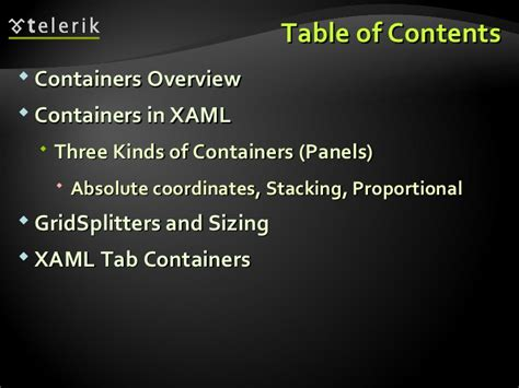 xaml layout containers wpf layout containers