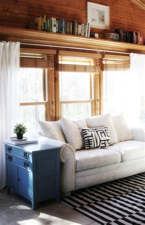 long curtain rods  sunrooms  big windows