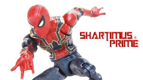 Marvel Legends Iron 48 Infinity War Baf Mcu Thanos marvel legends iron spider infinity war thanos baf wave hasbro figure review
