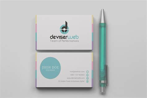 templates psd business free modern business card template psd download psdboom