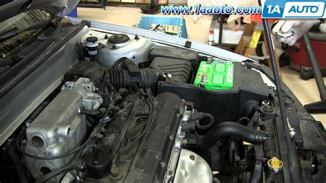 how cars engines work 1999 hyundai elantra electronic throttle control how to replace change install spark plugs 2001 06 hyundai elantra 2 0l youtube