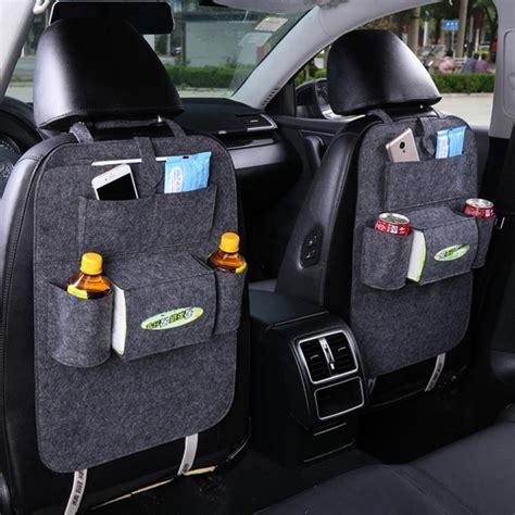 Back Car Seat Organizer Black multipurpose car back seat organizer storagedelight