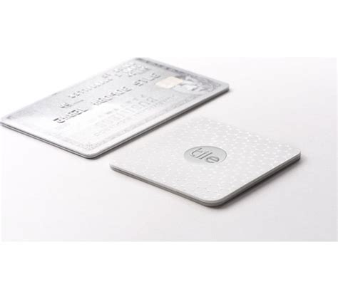 Tile Bluetooth Tracker Tile Slim Bluetooth Tracker White Deals Pc World