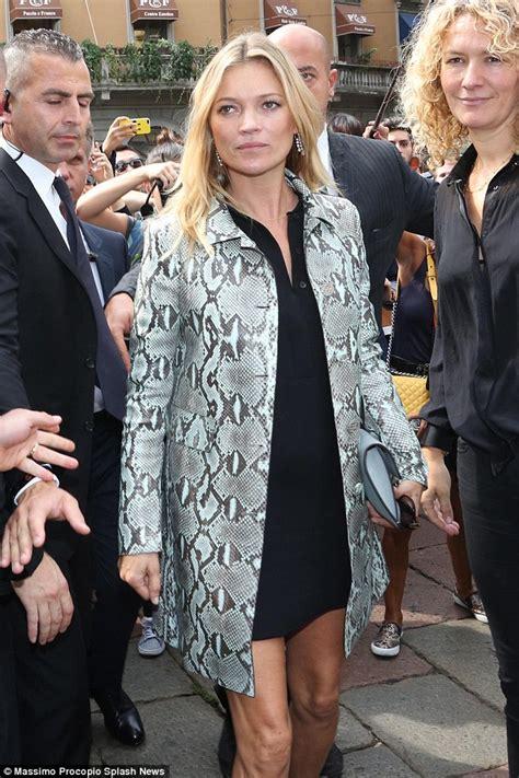 Rorina Dress Miulan kate moss shows slim pins in black minidress and
