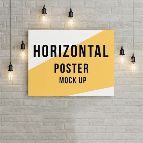 free mock up poster mock up template psd file free