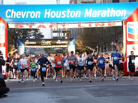 Chevron Houston Marathon by Get In The Race The Best Spots To The Houston