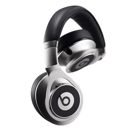 Headphone Beats Executive beats executive wired ear headphone silver dj opium