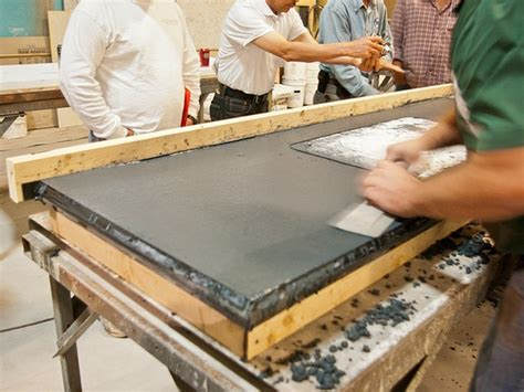 How To Make A Concrete Countertop In Place by Image 3