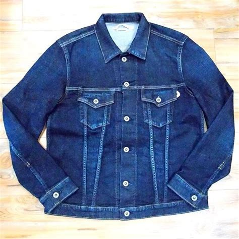 Kick Denim 1 1 deeper swear ディーパーズウェア high kick denim jacket d indigo