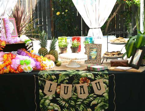 hawaiian luau bridal wedding shower quot vintage luau bridal shower quot catch my