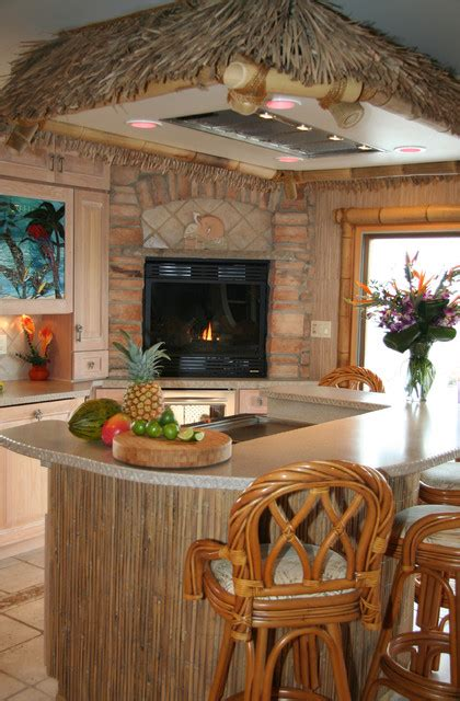 Tropical Kitchen Design Kitchen King Inc Tropical Kitchen Other Metro By Kitchen King Inc