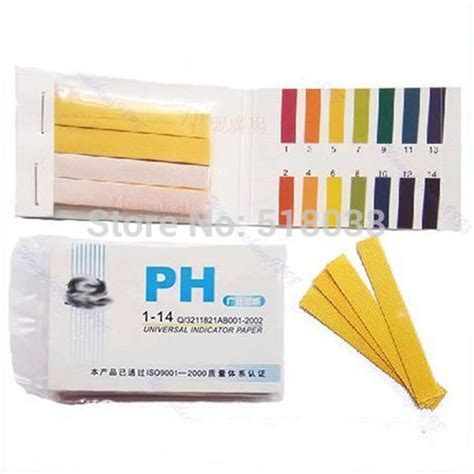 How To Make Litmus Paper At Home - ootdty 80 strips ph test aquarium pond water testing