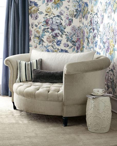 haute house harlow silver cuddle chair