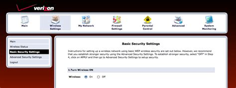 reset verizon fios ip address cyb3r box how to replace your verizon fios actiontec