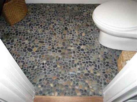 pebbles in bathroom pebble floor bathroom design ideas home design garden