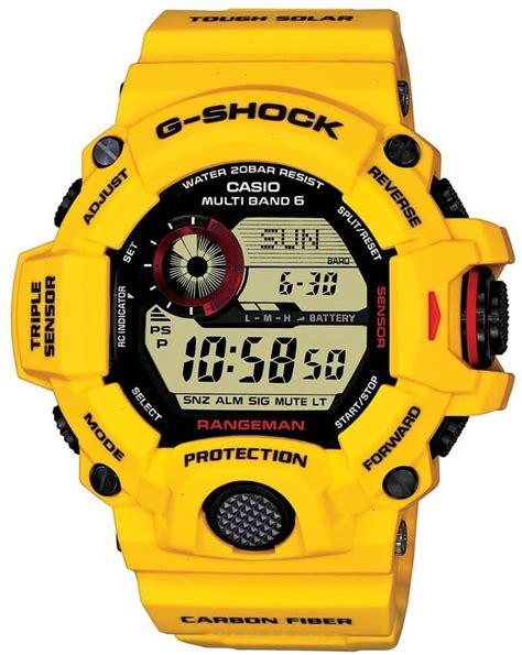 G Shock Rangeman V2 Black Blue casio g shock rangeman gw 9400 all models released