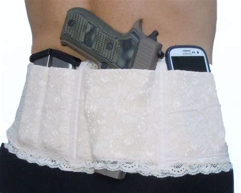 waistband holster concealed carry gun ladies womens concealed carry lace waistband gun holster