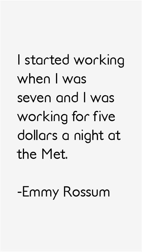 emmy rossum quotes emmy rossum quotes sayings
