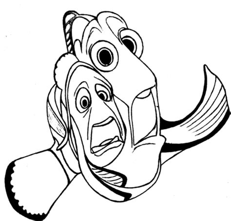 finding nemo coloring pages marlin finding nemo coloring pages