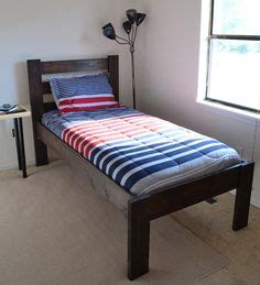 how to make a bed comforter from scratch 1000 ideas about twin size bed frame on pinterest twin