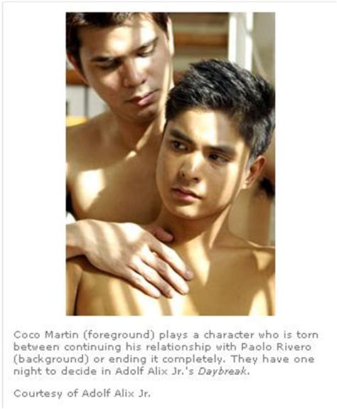 diether oco bench coco martin shirtless