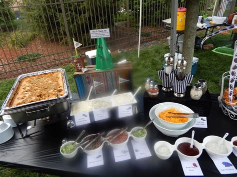 macaroni bar toppings menu ideas brock masterson s catering events 937 298 1234