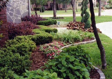Front Yard Landscape Ideas Traditional Landscape Garden Design Dallas