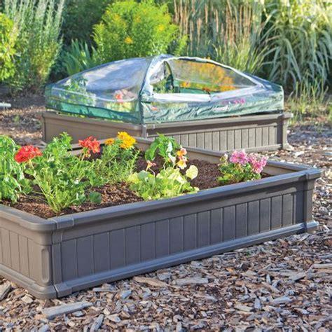 lifetime raised garden bed lifetime raised garden bed kit 2 beds 1 enclosure