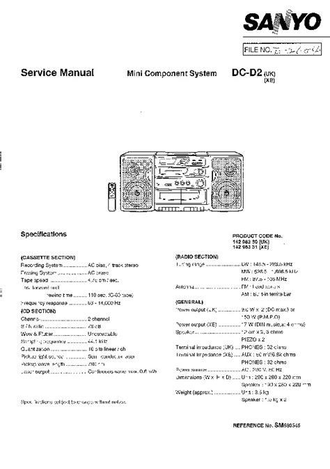 SANYO – Página 2 – Diagramasde.com – Diagramas